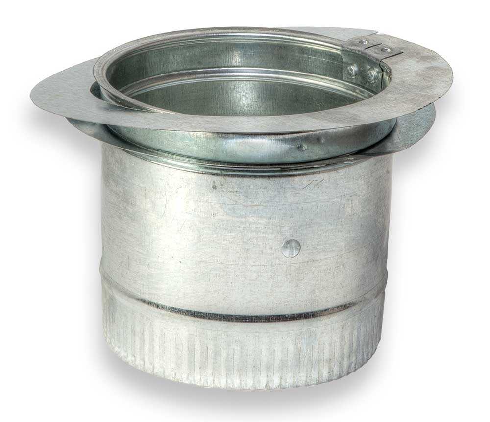 Product duct board spin fitting damper zm sheet